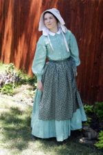 1860s Work Dress and Accessories