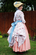 1780s Italian Gown and Accessories
