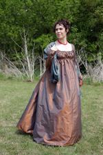 1815 Norwegian Wedding Dress Recreation
