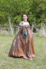 Recreation of an 1815 Norwegian Wedding Dress